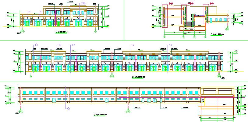 2层S2#沿街商铺建筑水暖电设计施工图图片1