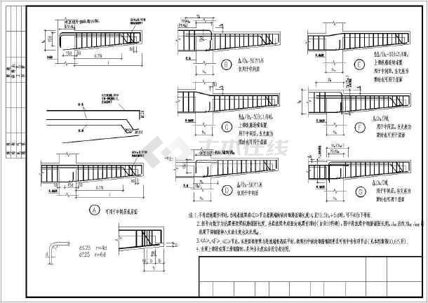悬挑梁钢筋绑扎照片_[构造详图]纯悬挑梁XL及各类梁的悬挑端配筋构造详图 - 土木在线