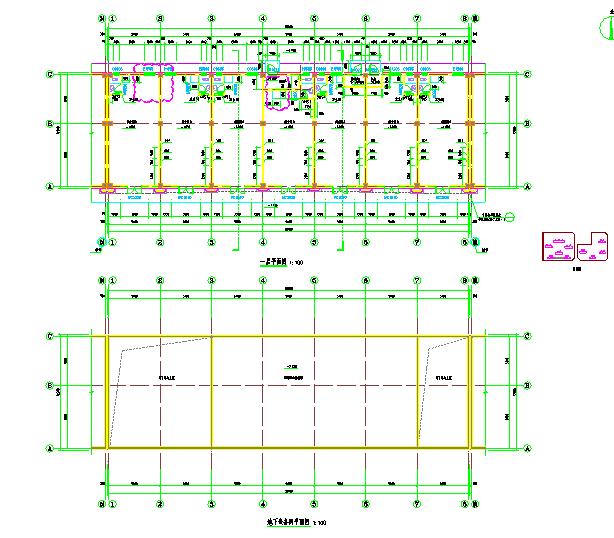 单层S1#沿街商铺建筑水暖电设计施工图图片2