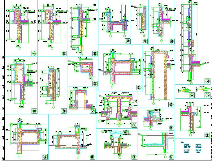 单层S1#沿街商铺建筑水暖电设计施工图图片3