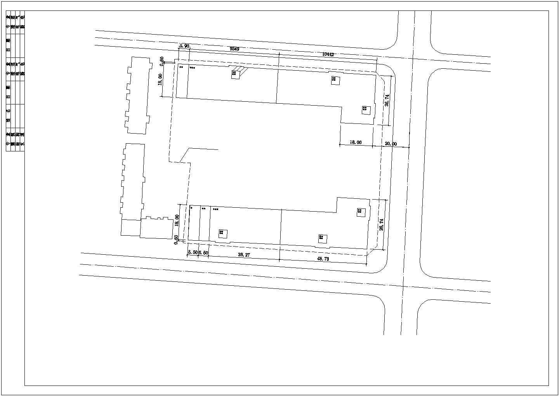 [吉林]某三层仿古立面沿街商铺建筑扩初图VIP图片2