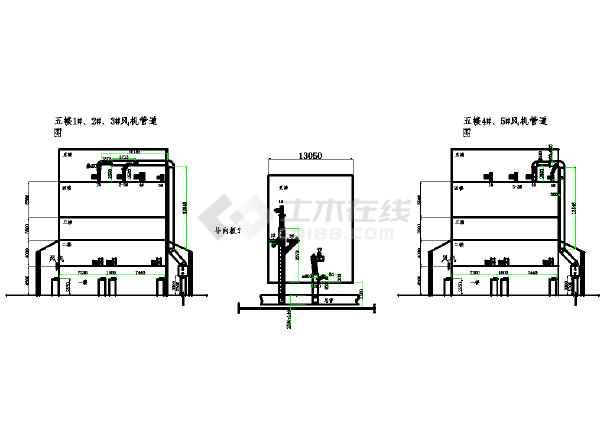 点击查看饲料厂环保工程详图CAD版(全套)第1张大图