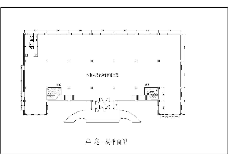 [方案]某仿古建筑工厂办公楼和厂房建筑方案图(含效果图)图片1