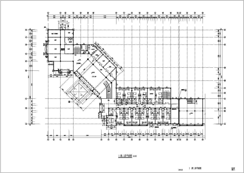 某沿街商铺与会所建筑施工方案图片3