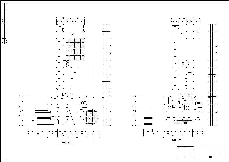 某地十六层综合楼建筑cad图(钢筋混凝土结构框架核心筒)图片1