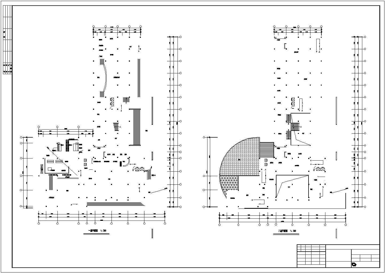 某地十六层综合楼建筑cad图(钢筋混凝土结构框架核心筒)图片2