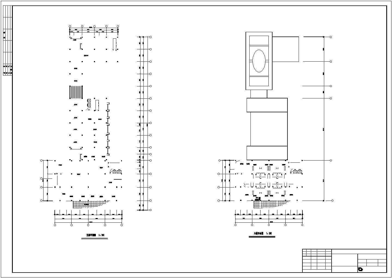某地十六层综合楼建筑cad图(钢筋混凝土结构框架核心筒)图片3