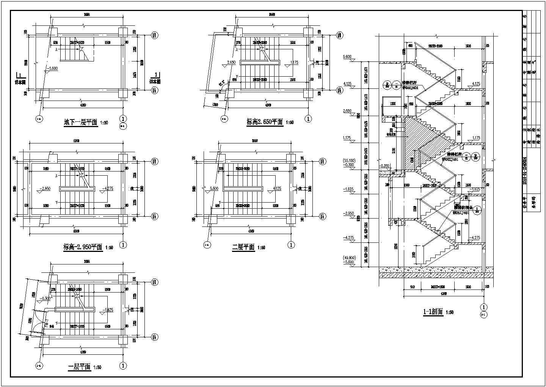 南昌某地商贸物流中心二层沿街商铺建筑施工图(2号楼)VIP图片3