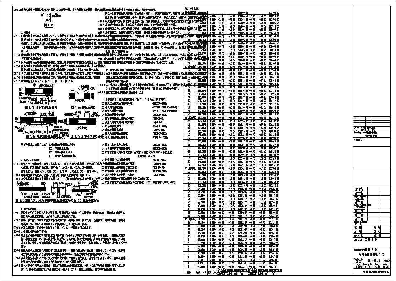 75层(含钢结构伸臂桁架)型钢混凝土框架核心筒结构超高层综合楼结构施工图(330米)图片2