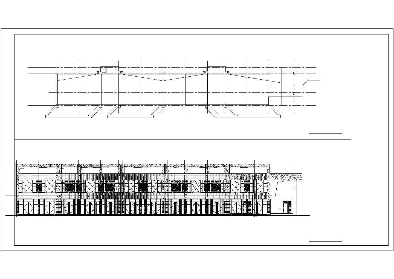 某970.84�O二层沿街商铺建筑扩初图VIP图片3