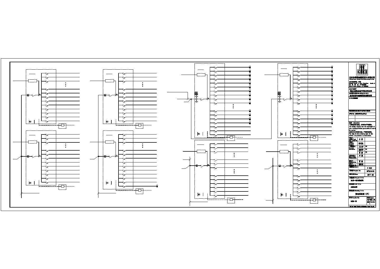 [河北]某6500�O多层办公楼电气施工图纸(二级,三级负荷)图片1