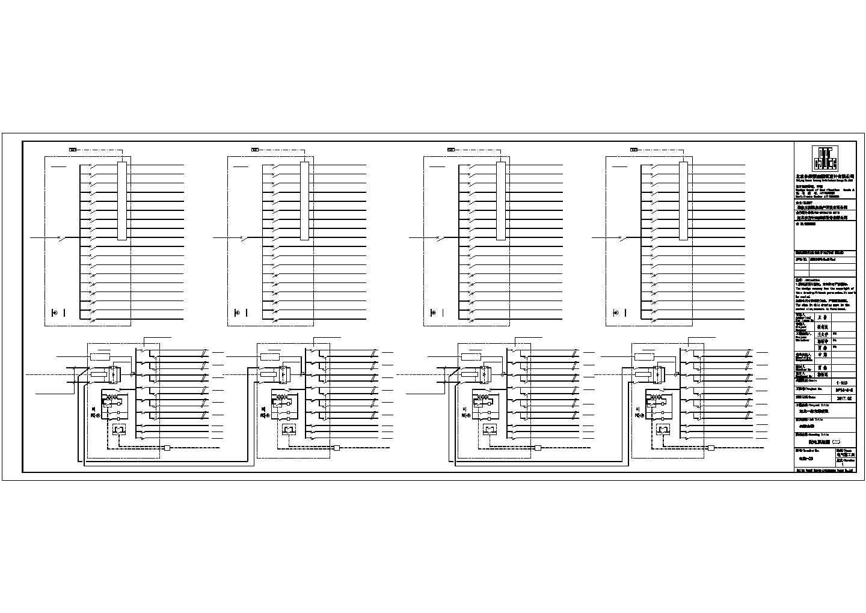 [河北]某6500�O多层办公楼电气施工图纸(二级,三级负荷)图片2