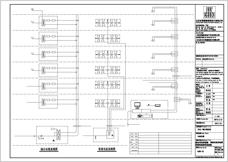 [河北]某6500�O多层办公楼电气施工图纸(二级,三级负荷)图片3