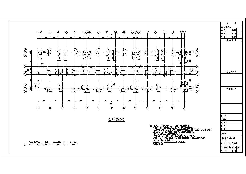 [天津]六层钢筋混凝土剪力墙结构住宅楼结构设计图(正规设计院图纸)图片2