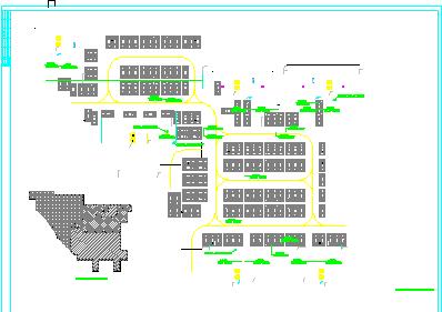 [湖南]某2.5万平米小区地下室电气平面图(含变电所布置图)图片2