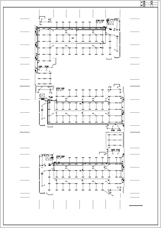 [安徽]某3046平方米工业厂房电气施工图(甲级院设计)图片2