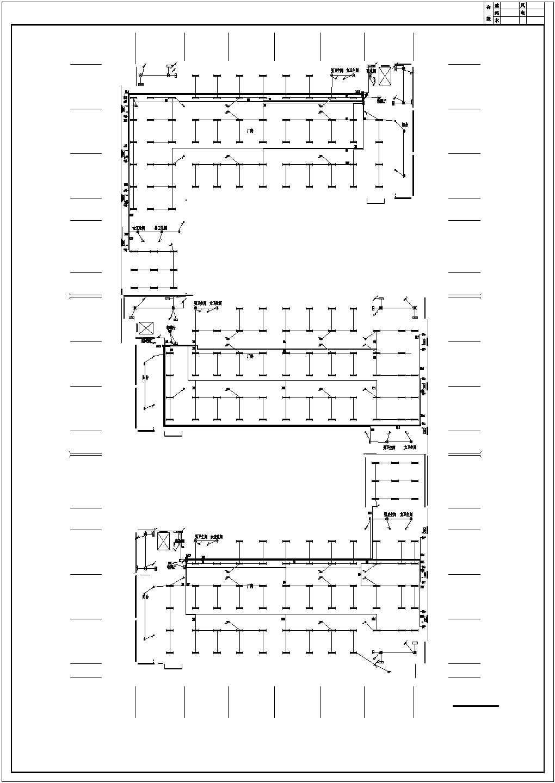 [安徽]某3046平方米工业厂房电气施工图(甲级院设计)图片3