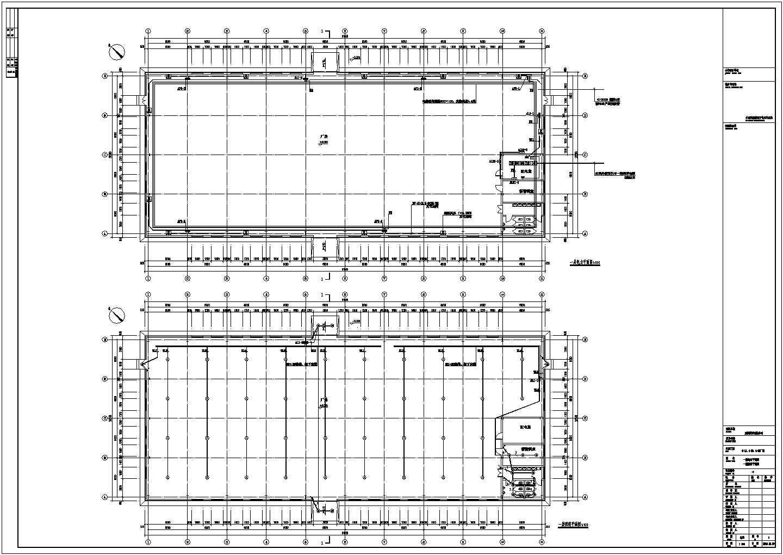 [葫芦岛]某单层成片厂房电气施工图纸(二级负荷)图片2
