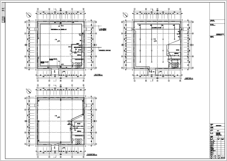 [葫芦岛]某单层成片厂房电气施工图纸(二级负荷)图片3