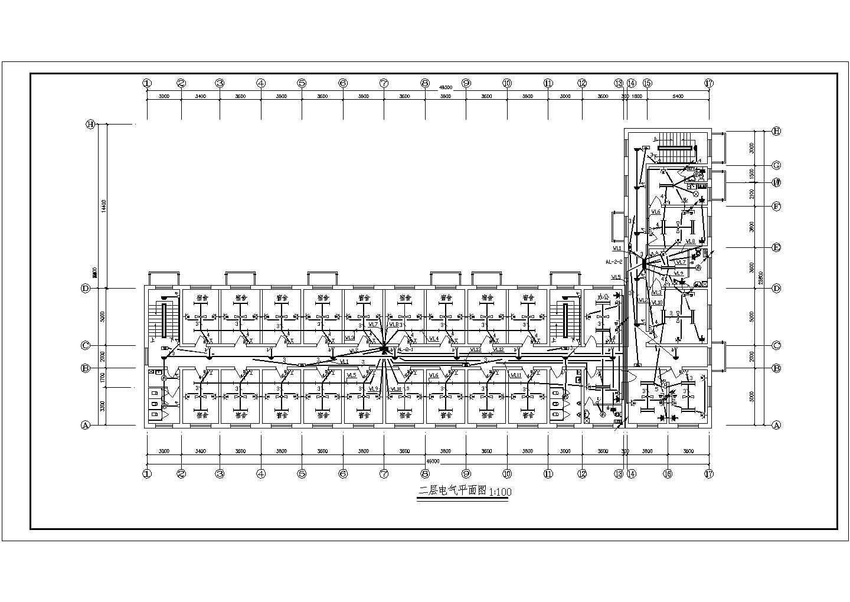 1869�O某三层办公楼电气设计施工图图片3