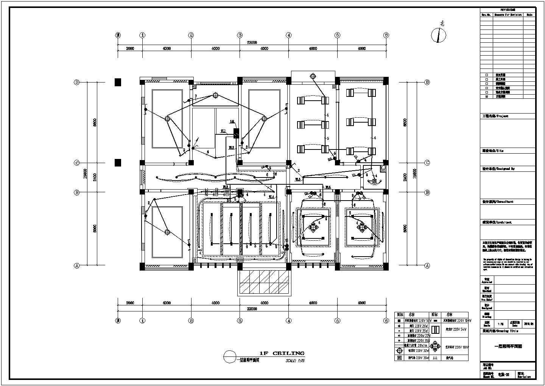 某物资仓库三层办公楼电气设计施工图图片1