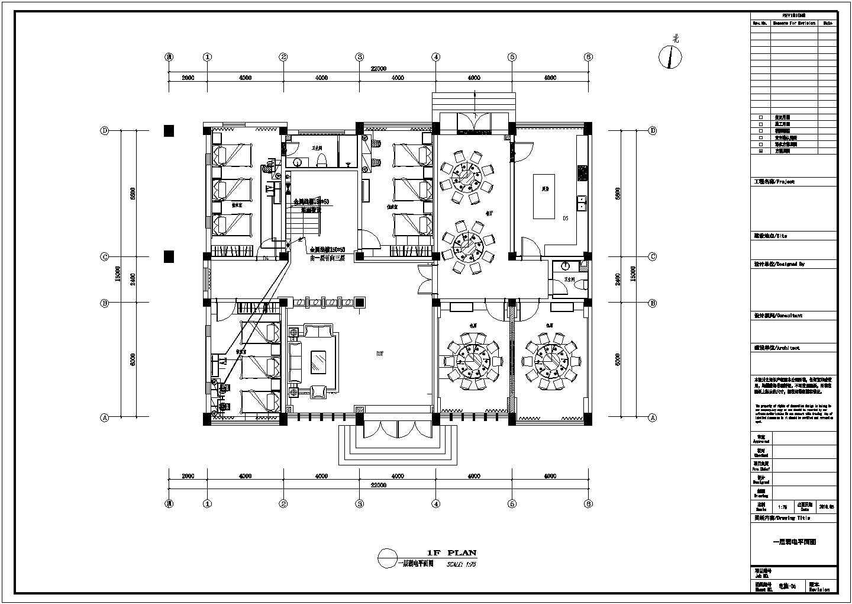 某物资仓库三层办公楼电气设计施工图图片3
