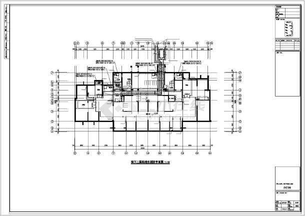 [江苏]89282㎡33层大型住宅小区全套给排水图纸(TTC同层排水、含5栋住宅楼)-图一