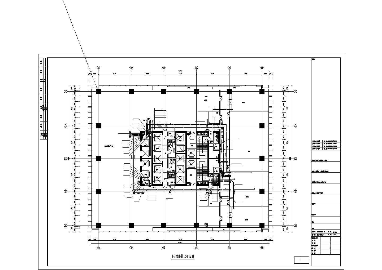 [江苏]180米超高层综合建筑给排水图纸(太阳能热水系统、虹吸雨水、消防炮)图片1