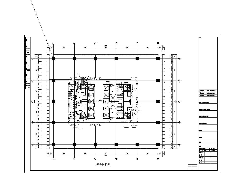 [江苏]180米超高层综合建筑给排水图纸(太阳能热水系统、虹吸雨水、消防炮)图片3