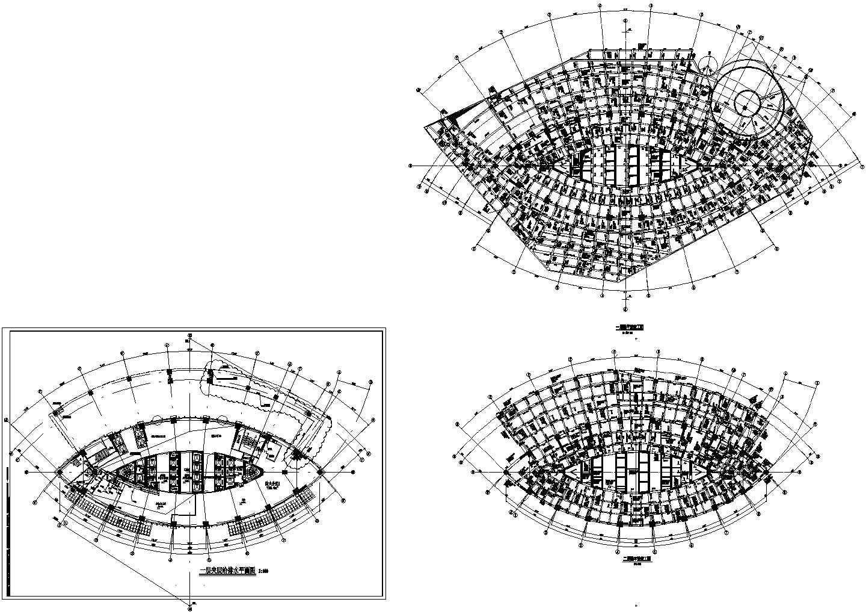 [四川]125721�O超高层甲级办公楼建筑给排水图纸(含五星酒店、199米)图片3