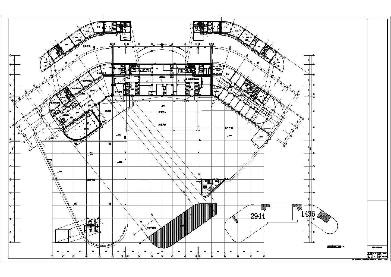 【贵州】二十二层五星级酒店电气设计施工图纸图片1