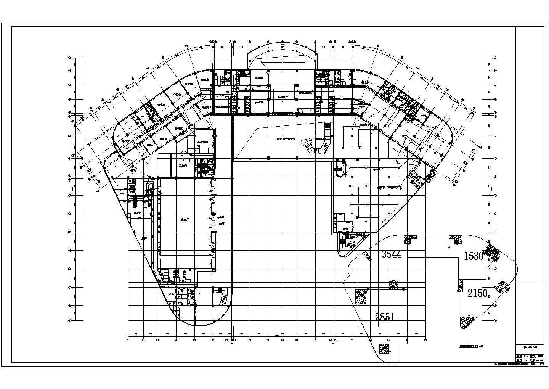 【贵州】二十二层五星级酒店电气设计施工图纸图片2