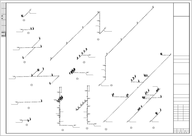[江西]二层办公楼建筑给排水图纸(含办公楼、综合仓库)图片1