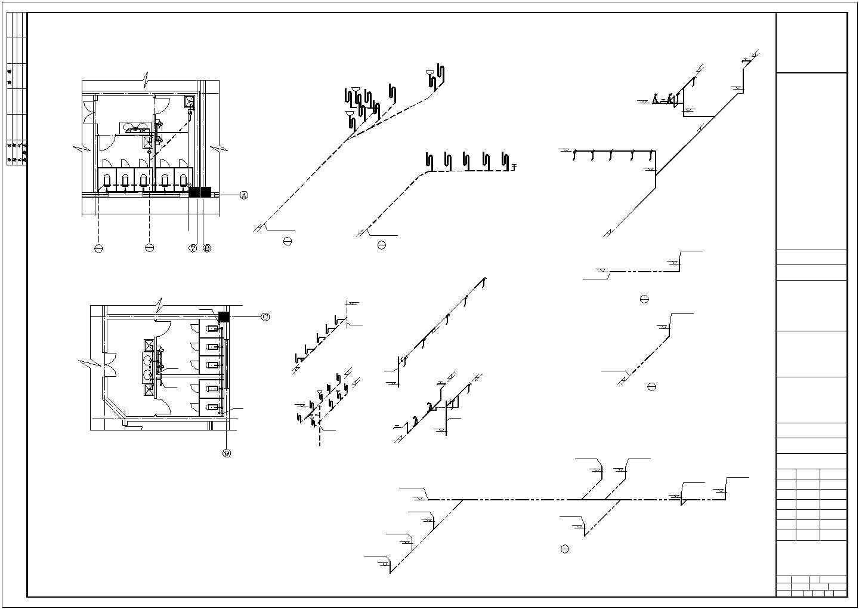 [江西]二层办公楼建筑给排水图纸(含办公楼、综合仓库)图片2