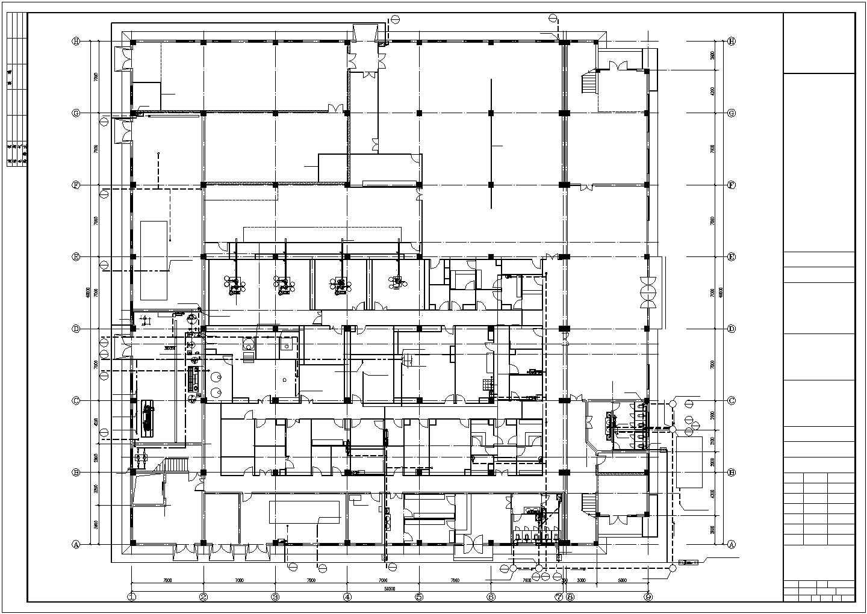 [江西]二层办公楼建筑给排水图纸(含办公楼、综合仓库)图片3