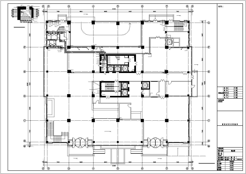 [辽宁]3.7万�O高层综合建筑给排水图纸图片1