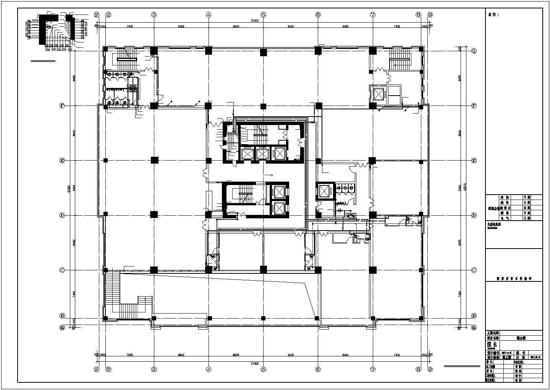 [辽宁]3.7万�O高层综合建筑给排水图纸图片2