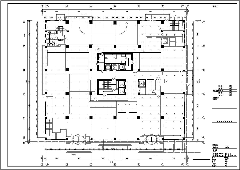 [辽宁]3.7万�O高层综合建筑给排水图纸图片3