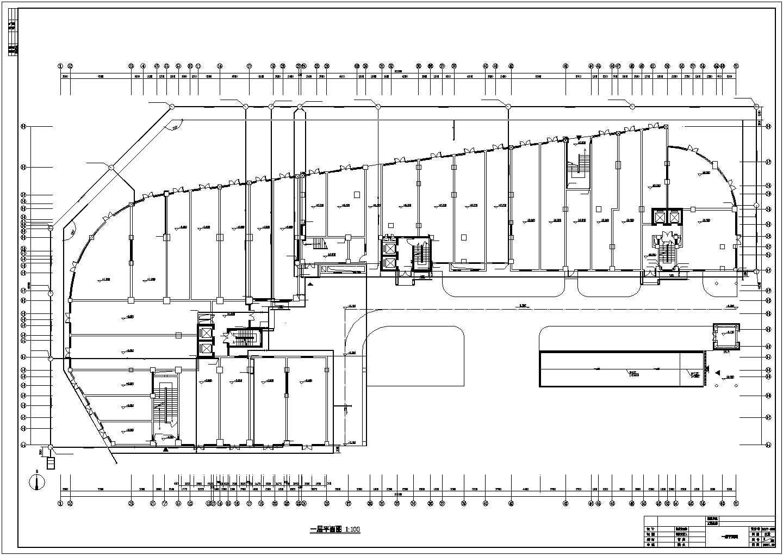 某31167.15�O十三层家居综合批发市场建筑给排水图纸图片2