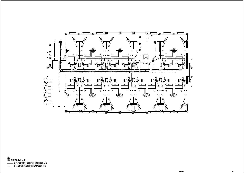 [云南]38654.9�O地上二十五层五星级酒店电气全套施工图纸(地下2层)图片2