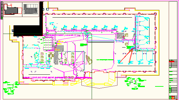 [河北]83339.72�O地上二十六层五星级酒店电气全套施工图纸(含群楼)图片3