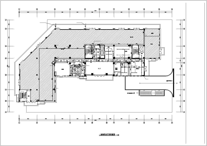 [浙江]17850.2�O十五层民政局综合中心给排水施工图(自动喷淋系统)图片2