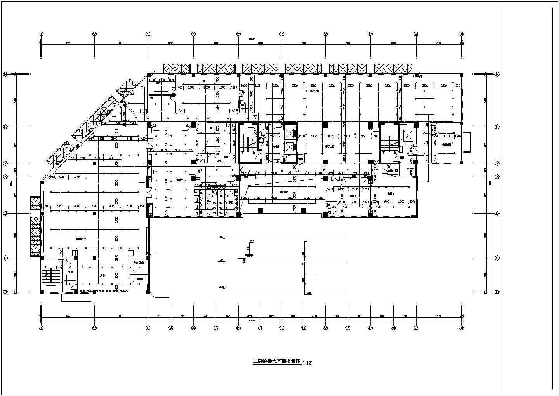 [浙江]17850.2�O十五层民政局综合中心给排水施工图(自动喷淋系统)图片3