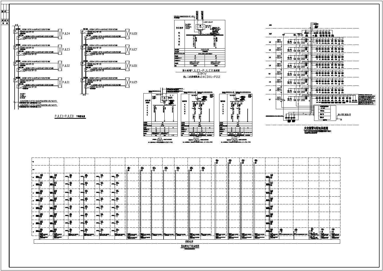 某36136�O地上八层丙类厂房电气施工图纸(二级负荷,第二类防雷)图片2