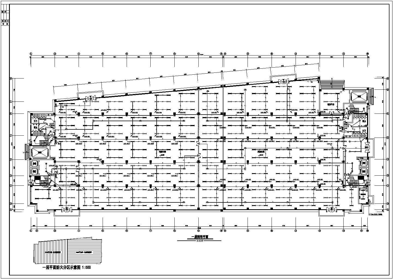 某36136�O地上八层丙类厂房电气施工图纸(二级负荷,第二类防雷)图片3