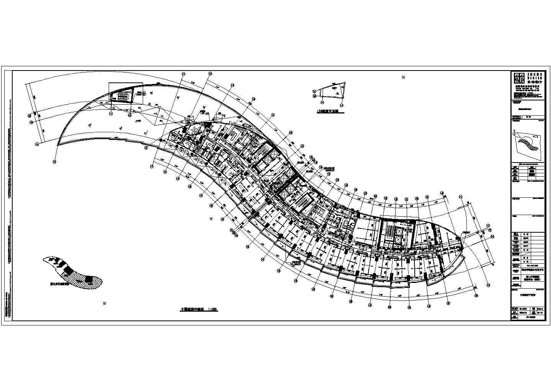 76193�O二十层海口丹娜给排水施工图(含泵房大样,卫生间大样,中水处理系统,气体灭火布置图,太阳能热水屋顶平面图)图片2