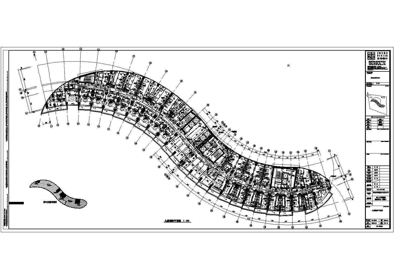 76193�O二十层海口丹娜给排水施工图(含泵房大样,卫生间大样,中水处理系统,气体灭火布置图,太阳能热水屋顶平面图)图片3