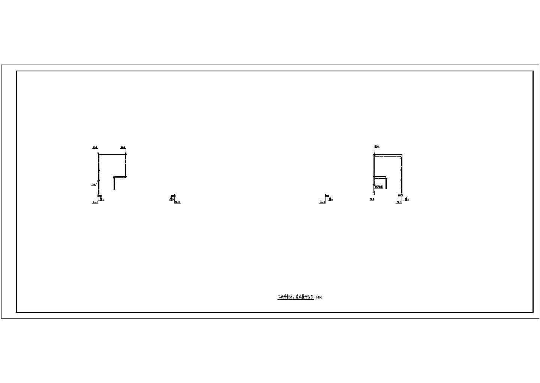 [辽宁]多层办公楼给排水施工图(甲级设计院)图片1