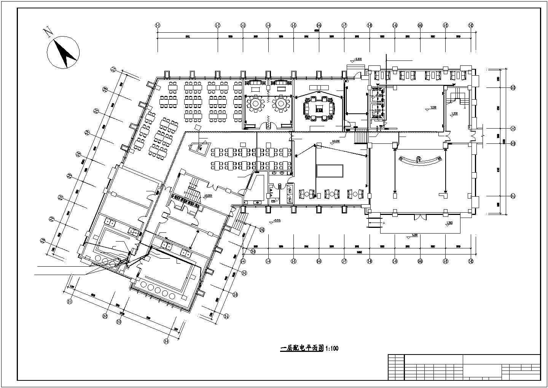[郑州]某8006.61�O六层办公楼电气全套施工图(三级负荷)图片1