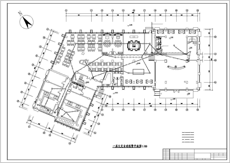 [郑州]某8006.61�O六层办公楼电气全套施工图(三级负荷)图片2